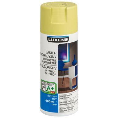 Spray KOLOR 0.4 l Zielony oliwkowy Mat LUXENS