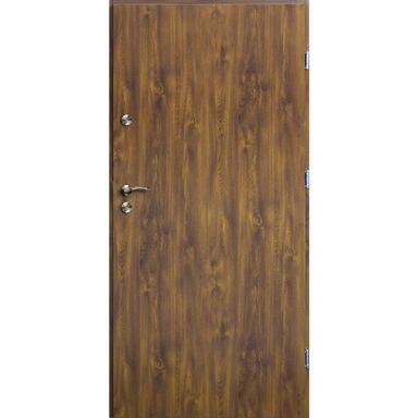 Drzwi wejściowe TRO ARTE Złoty dąb 80 Prawe OK DOORS TRENDLINE