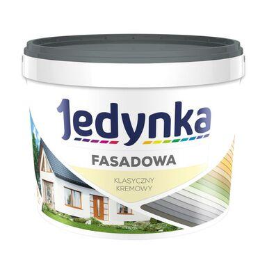 Farba elewacyjna FASADOWA 9 l Klasyczny kremowy JEDYNKA