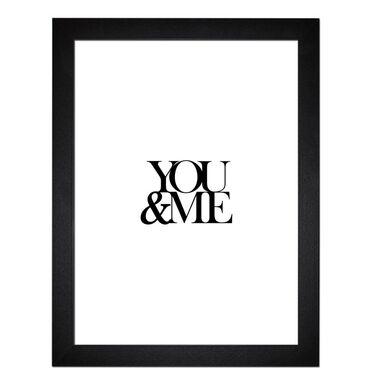 Obraz YOU & ME 35.8 x 45.8 cm  STYLER