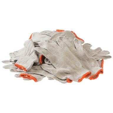 Rękawice robocze bawełniane 10 par r. 9 TOP-TECH DIRECT TTDRB