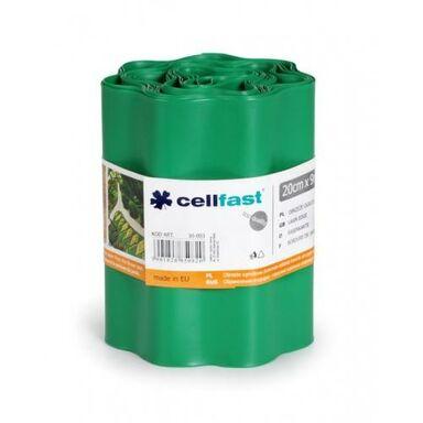 Obrzeże trawnikowe 900 x 21 cm PVC zielone