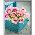 Obraz Róże w koszu 40 x 50 cm