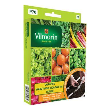 Ogródek warzywno-ziołowy WARIANT 1 nasiona na taśmie 9 x 1,5 m VILMORIN
