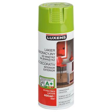 Spray KOLOR 0.4 l Zielony pistacjowy Połysk LUXENS