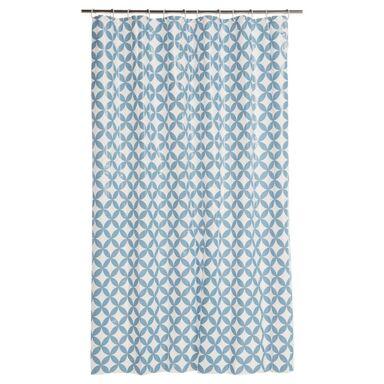 Zasłonka prysznicowa CAROLLE 180 x 200 cm SENSEA