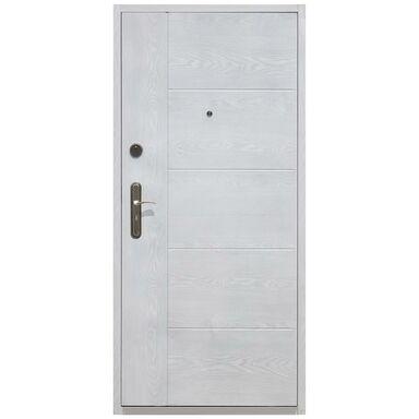 Drzwi wejściowe UNO WHITE 90 Prawe