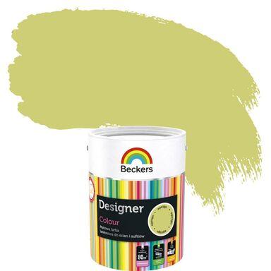 Farba wewnętrzna do ścian i sufitów DESIGNER COLOUR 5 l Asparagus BECKERS