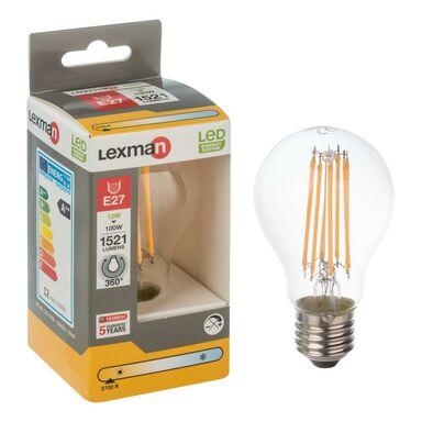 Żarówka LED E27 (230 V) 12 W 1521 lm Ciepła biel LEXMAN