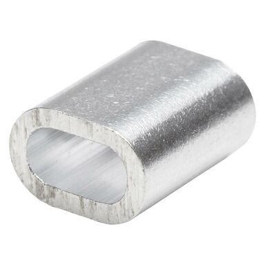 Złączka aluminiowa do liny 3 mm 6 szt. STANDERS