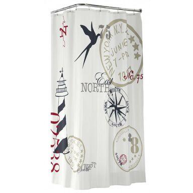 Zasłonka tekstylna FARO 180 x 200 cm SEALSKIN