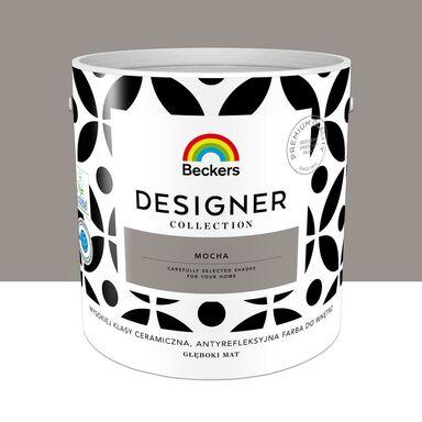 Farba wewnętrzna Desiger Collection 2.5 l Mocha Beckers
