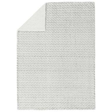 Narzuta SOFT szara 200 x 220 cm INSPIRE