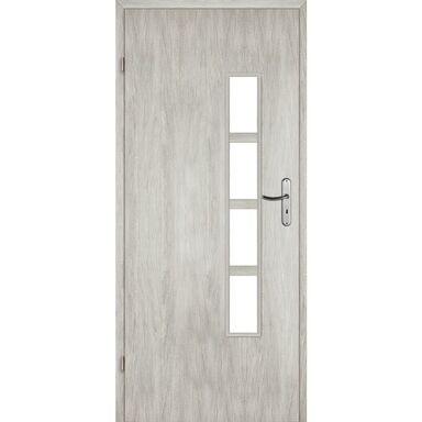 Skrzydło drzwiowe pokojowe MONTI Dąb srebrny 80 Lewe VOSTER