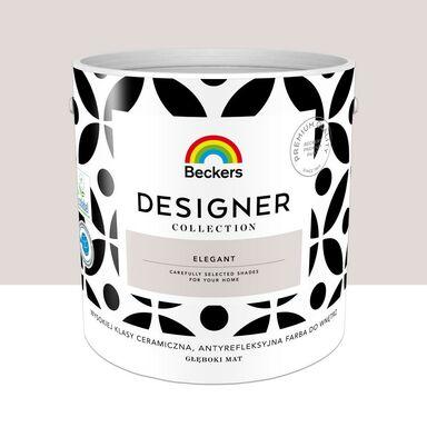 Farba wewnętrzna Desiger Collection 2.5 l Elegant Beckers