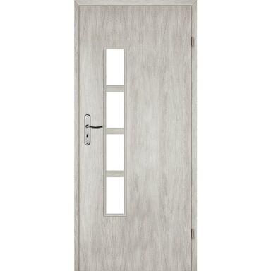 Skrzydło drzwiowe pokojowe MONTI Dąb srebrny 80 Prawe VOSTER