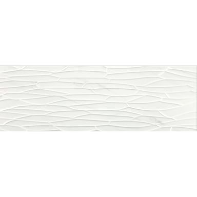 Glazura ARKIT TASOS WHITE 40 X 120 BALDOCER