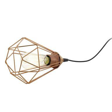 Lampa stołowa BYRON miedziana E27 INSPIRE