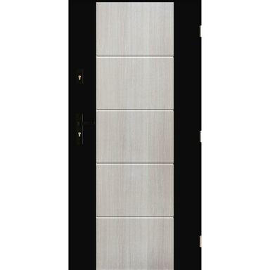 Drzwi wejściowe NICEA Dąb bielony 80 Prawe