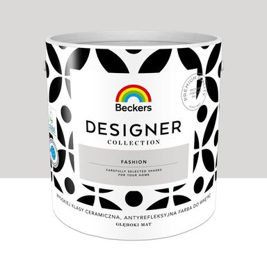 Farba wewnętrzna Desiger Collection 2.5 l Fashion Beckers