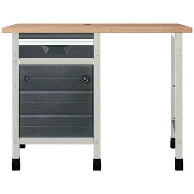 Stały stół warsztatowy WSS 113 cm NR 6 / 8065000 WOLFCRAFT
