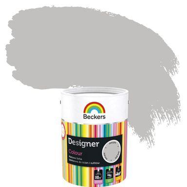 Farba wewnętrzna do ścian i sufitów DESIGNER COLOUR 5 l Stony Grey BECKERS