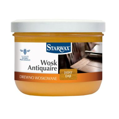 Wosk ANTIQUAIRE 375 ml Dąb jasny STARWAX
