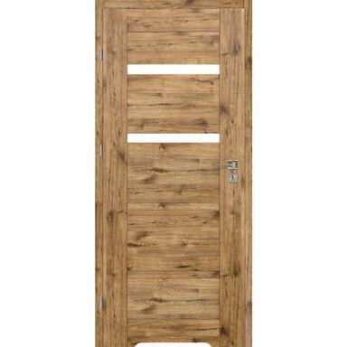 Skrzydło drzwiowe z podcięciem wentylacyjnym PARMA Dąb szlachetny 80 Lewe VOSTER