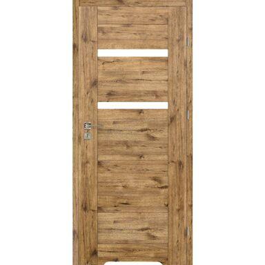 Skrzydło drzwiowe z podcięciem wentylacyjnym PARMA Dąb szlachetny 60 Prawe VOSTER