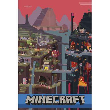 Plakat MINECRAFT 61 x 91.5 cm