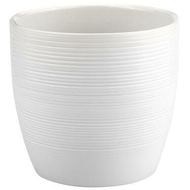 Doniczka ceramiczna 26 cm biała EMI CERAMIK