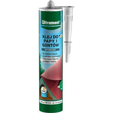 Klej bitumiczny do papy i gontów 300 ml ULTRAMENT