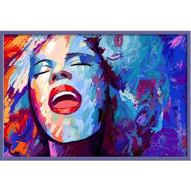Obraz Kobieta 90 x 60 cm