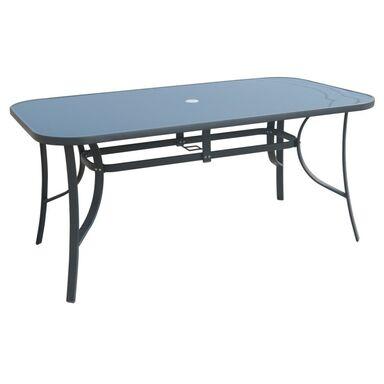 Stół ogrodowy 90 x 160 cm CINO antracytowy
