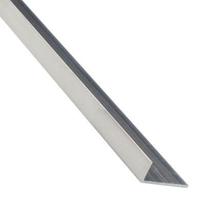 Kątownik aluminiowy 1 m x 30 x 20 mm surowy srebrny
