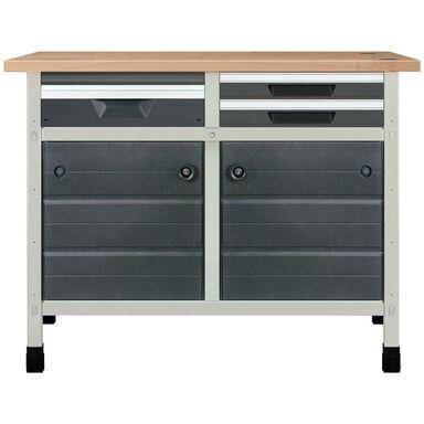 Stały stół warsztatowy WSS 113 cm NR 7 / 8066000 WOLFCRAFT