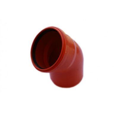 Koleno venkovní kanalizace KZ 110 45° POLIPLAST