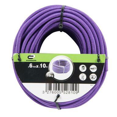 Lina elastyczna 16 kg 6 mm x 10 m fioletowa STANDERS