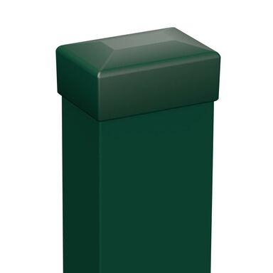 Słupek ogrodzeniowy 6 x 4 x 240 cm Zielony POLARGOS