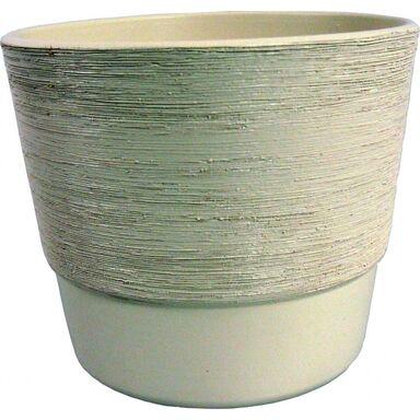 Doniczka ceramiczna 28 cm kremowa SERIA 500 CERMAX