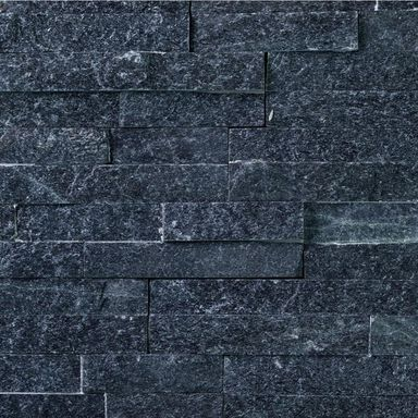Kamień naturalny WALL CRAZY SILVER BLACK SMALL KNAP