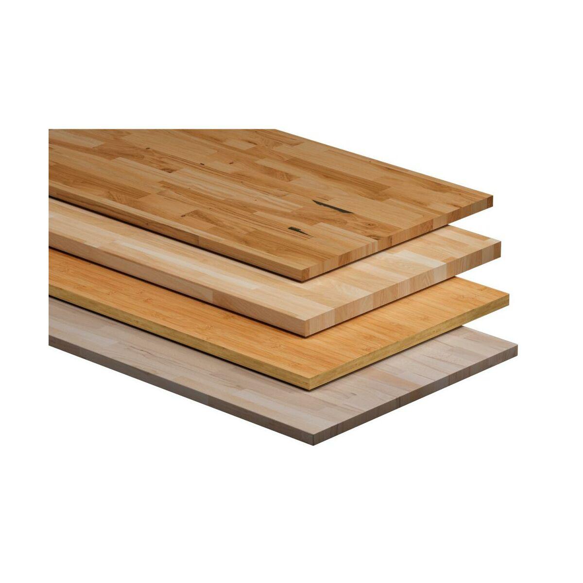Blat Kuchenny Drewniany Dab Delinia Blaty Drewniane W Atrakcyjnej Cenie W Sklepach Leroy Merlin