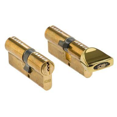 Zestaw wkładek drzwiowych podłużnych BĘBENKOWYCH HEKTOR 45 x 35 mm + 35 x 45G mm LOB