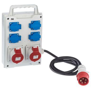 Rozdzielnia siłowa RS 6214 - 10 / 2 X 3P + N + Z 16 / 32A ELEKTRO - PLAST