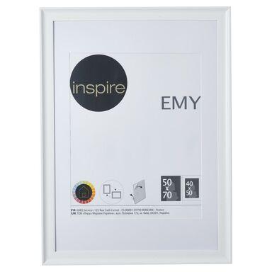 Ramka na zdjęcia EMY 50 x 70 cm biała INSPIRE