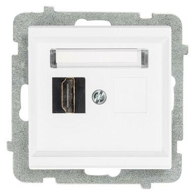 Gniazdo HDMI SONATA  Biały  OSPEL