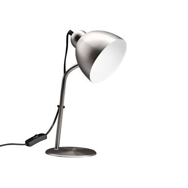 Lampka biurkowa Leo nikiel E27 Inspire
