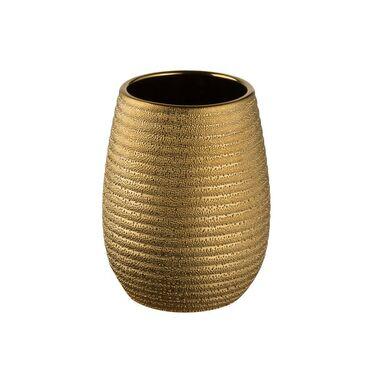 Pojemnik kosmetyczny GOLD kolor stare złoto BISK