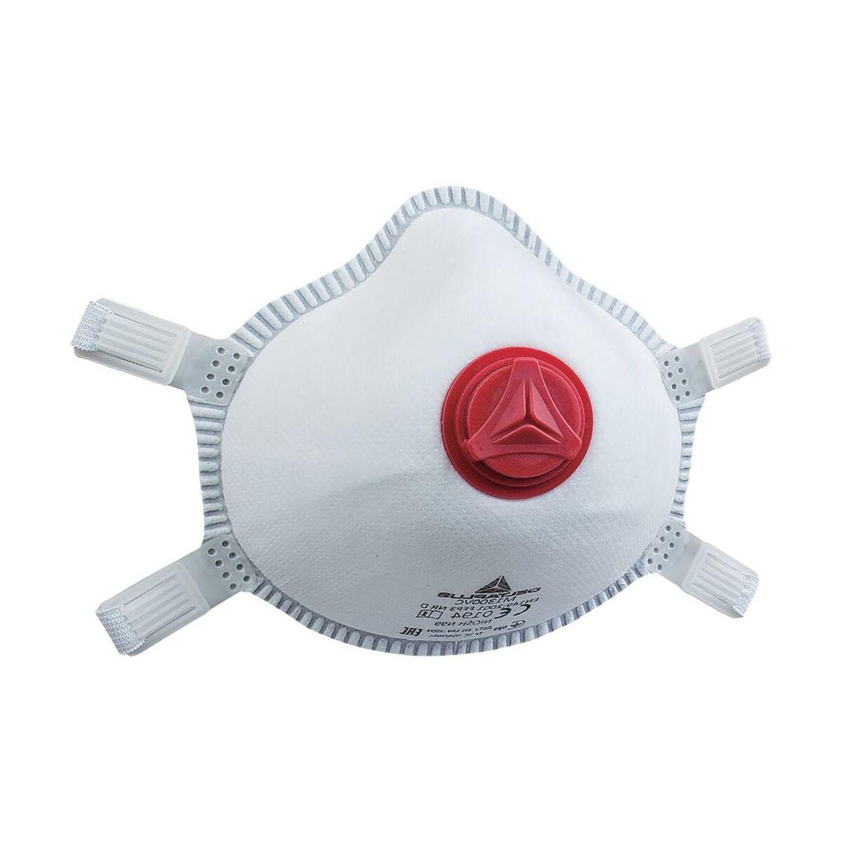 Polmaska Jednorazowa Z Filtrem Ffp3 Z Zaworem 1 Szt Delta Plus Maski I Filtry Ochrona Drog Oddechowych W Atrakcyjnej Cenie W Sklepach Leroy Merlin