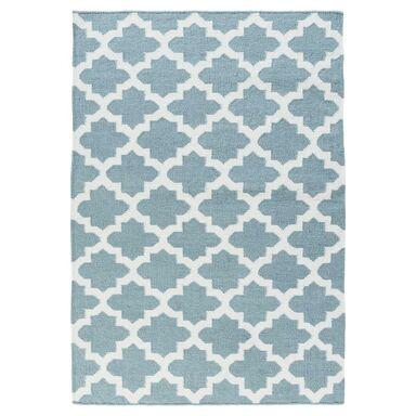 Dywan MAROKO niebieski 160 x 230 cm wys. runa 3 mm INSPIRE